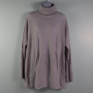 GARNET HILL Oversized Wool/Cashmere Sweater M